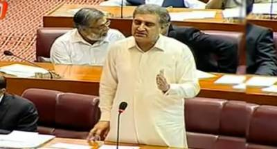 شاہ ؐمحمود قریشی نے خواجہ سعد رفیق سے معافی مانگنے کا مطالبہ کر دیا