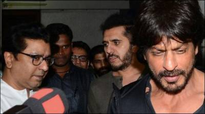 شاہ خان کی فلم 'رئیس' کی ریلیز سے پہلے راج ٹھاکرے سے ملاقات