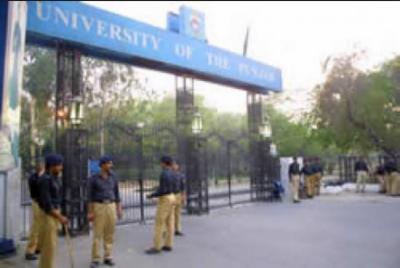 پنجاب یونیورسٹی میدان جنگ کا منظر پیش کرنے لگی