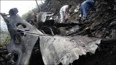 حویلیاں حادثہ : میتیں لواحقین کے حوالے، طیارہ چترال پہنچائے گا