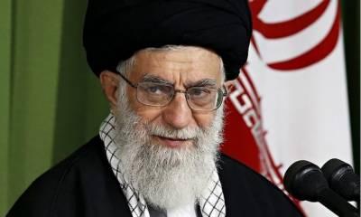 ایرانی سپریم لیڈر نے برطانوی وزیر اعظم کو شدید تنقید کا نشانہ بنا ڈالا