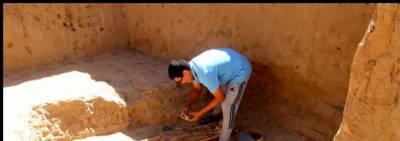 چین میں دو ہزار سال پرانے مقبرے کی دریافت
