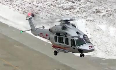 چین میں میڈیم سائز کا نیا ہیلی کاپٹر متعارف