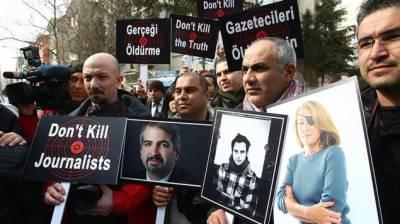 دنیا بھر میں رواں سال57 صحافی فرائض کی انجام دہی میں ہلاک