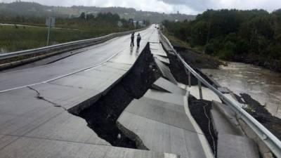چلی میں زلزلے کے بعد سونامی کا خطرہ، وارننگ جاری کردی گئی