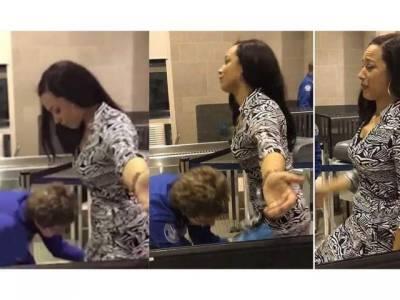 ائیرپورٹ پر خاتون مسافر کی ایسے شرمناک ترین انداز میں تلاشی کہ ویڈیو سامنے آنے پر انٹرنیٹ کی دنیا میں ہنگامہ برپاہوگیا