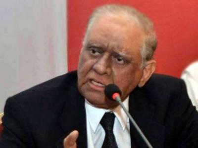 وفاقی حکومت نے گورنر سند ھ سعید الزمان صدیقی کے متبادل کی تلاش شروع کردی