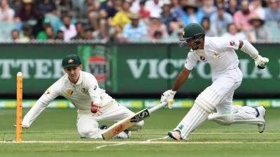 میلبرن ٹیسٹ :پاکستان نے آسٹریلیا کے خلاف 6وکٹوں کے نقصان پر310 رنز بنا لئے