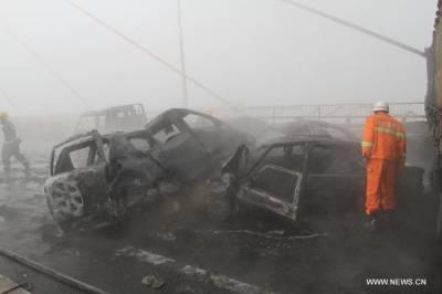 پنجاب میں دھند کے باعث مختلف ٹریفک حادثات انسانی جان لے گئے