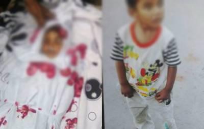 میرپور خاص میں سنگدل باپ نے ظلم کی انتہا کردی،2 معصوم بچوں کو زندہ درگور کر دیا