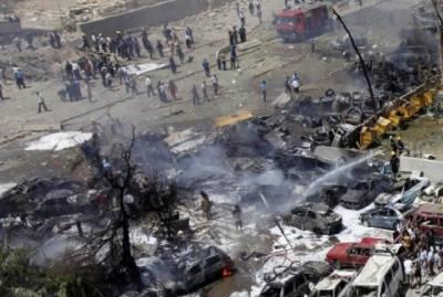 خود کش دھماکوں سے سارا شہر گونج اٹھا، ہلاکتیں ہی ہلاکتیں