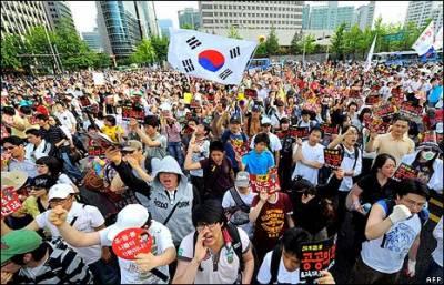 مسلسل دسویں ہفتےاحتجاج کے لیے عوام سڑکوں پر