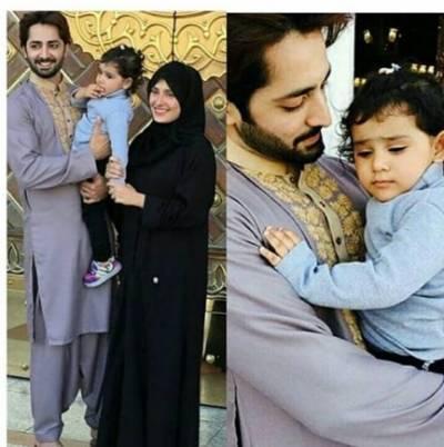 دانش تیمور اور عائزہ خان کی عمرہ کی ادائیگی کی خوبصورت تصاویر وائرل