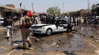 عراق میں خود کش کار دھماکے میں 36 افراد جاں بحق