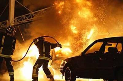 فرانس میں سال نو کے موقع پر 600سے زائد کاریں جلانے کے واقعات