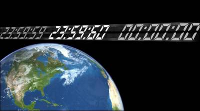 بین الاقوامی گھڑی میں ایک لیپ سیکنڈ کا اضافہ