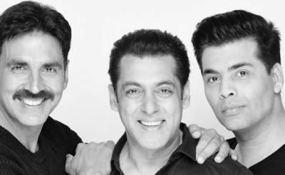 سلمان خان اور کرن جوہر کی مشترکہ فلم میں اکشے کمار ہیروہونگے