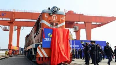 چین نے لندن تک پہلی مال بردار ٹرین سروس شروع کر دی