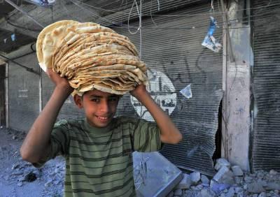 جنگ زدہ حلب میں ''پاکستان بیکری'' قائم ،لوگوں میں خوراک تقسیم کی جائے گی