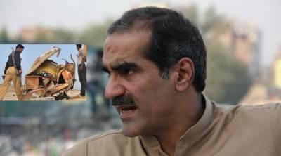 وزیر ریلوے خواجہ سعد رفیق کا ٹرین حادثے میں معصوم بچوں کی ہلاکت کا نوٹس
