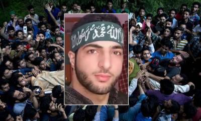 کشمیر ی نوجوان ہیرو شہید برہان وانی کی شہرت بلندیوں کو چھونے لگی،دنیا نے اعتراف کرلیا