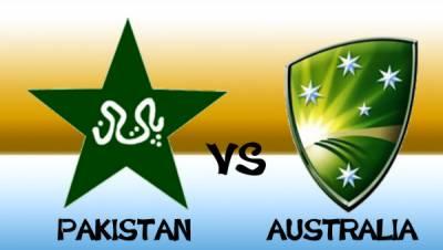 پاکستان اور آسٹریلیا کے درمیان پہلا ون ڈے 13 جنوری کو کھیلا جائے گا