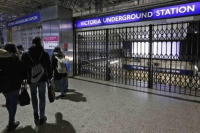 لندن میں لاکھوں لوگ پریشان،زیر زمین ٹیوب سروس کے ملازمین کی ہڑتال