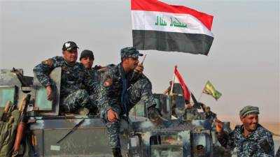 مشرقی موصل کو آزاد کرانے کی کارروائیوں میں عراقی فوج کی پیش قدمی