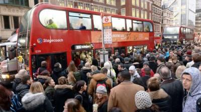 لندن میں ہڑتال کے باعث 2ہزار ٹرینوں میں سے آج صرف 16چلیں گی