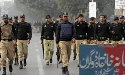 پولیس کی بڑی کارروائی، عرصہ دراز سے ڈکیتی و چوری کی وارداتوں میں ملوث شانی ڈکیت کے پانچ افراد دھرلئے