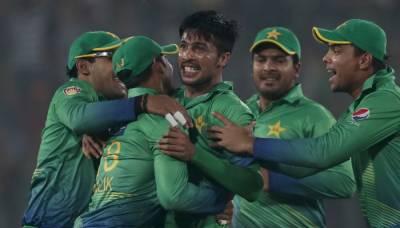 پاکستان نے وارم اپ میچ میں کرکٹ آسٹریلیا کو 196رنز سے شکست دیدی