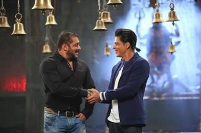 میرے سمیت کوئی اداکار سلمان سے مقابلہ نہیں کرسکتا، شاہ رخ