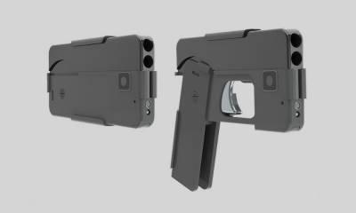 امریکا نے ایسی بندوق تیار کر لی جو موبائل جیسی دکھائی دیتی ہے