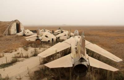 شام کا اسرائیل پر فوجی ہوائی اڈے پر بمباری کا الزام