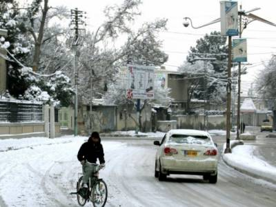 بلوچستان میں بارش کے ساتھ برف باری کا سلسلہ شروع