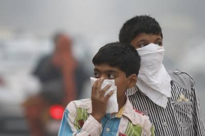 بھارت میں ماحولیاتی آلودگی کا بحران، ہر سال 12لاکھ افراد ہلاک ہوجاتے ہیں