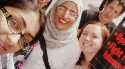 لندن میں حجاب پہنے خاتون سےنسلی امتیازکا واقعہ