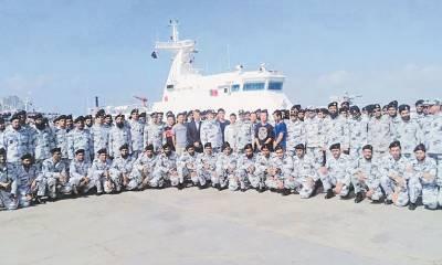 گوادر پورٹ کی سیکیورٹی کیلئے دو چینی بحری جہازوں کی آمد