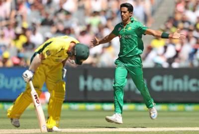 پاکستان نے آسڑیلیا کو 220رنز تک محدود کر دیا