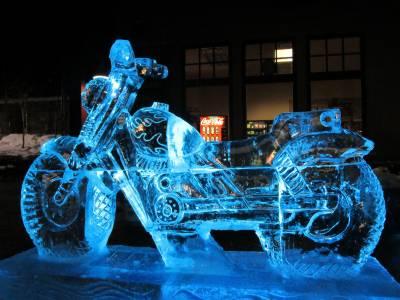 برف سے مجسمہ سازی کا سالانہ میلہ شروع