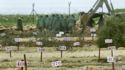 اسرائیل کے قبرستانوں میں مظلوم فلسطنیوں کی خفیہ قبروں کا انکشاف