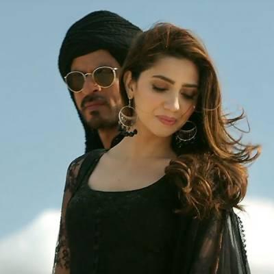 ماہرہ خان فلم ریئس کے مناظر دیکھ کر خود ہی شرما گئی ،مگر کیوں ؟