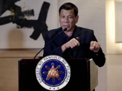 فلپائن کے صدر نے ملک میں مارشل لا لگانے کا عندیہ دے دیا