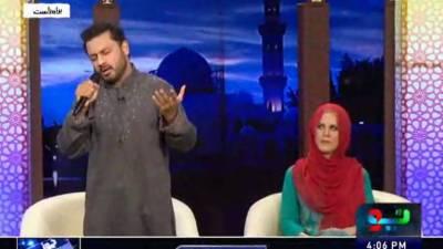 معروف گلوکار نجم شیراز نے گلوکاری کو خیر باد کہہ دیا