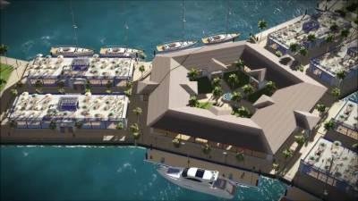 بین الاقوامی کمپنی نے سمندر کی لہروں پر تیرتے شہر کوتعمیر شروع کرنے کا اعلان کر دیا