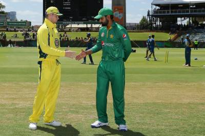 پاکستان اور آسٹریلیاکے مابین 5ایک روزہ میچز کی سیریز کا آج تیسرا میچ جاری