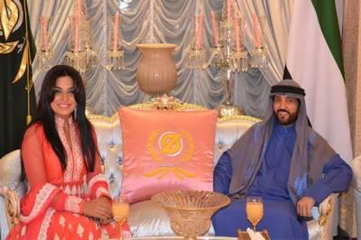 میرا کی اماراتی بزنس مین سے ملاقات کی تصاویر کی سوشل میڈیاپر دھوم