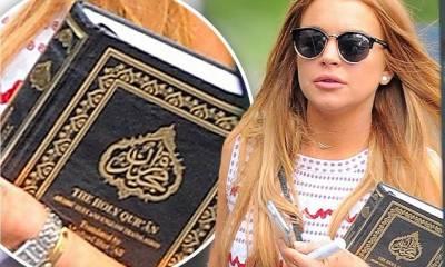 ایک سعودی شہری نے مجھے اسلام سے متعارف کرایا ، لنڈسے لوہان