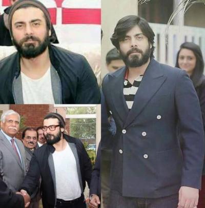فواد خان کے وزن میں اتنا اضافہ کہ پہچاننا مشکل ہو گیا