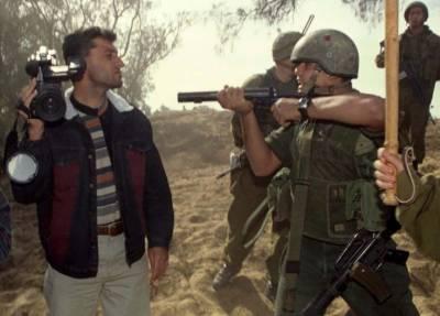 اسرائیلی پولیس نے پیدل چلنے والے فلسطینی صحافی کا چالان کر ڈالا